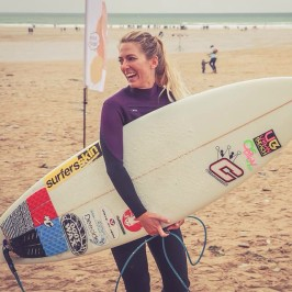 Tehillah McGuinness South African Born Pro Surfer and model