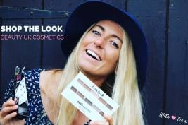 Tehillah McGuinness, South African Born Pro Surfer, Sports Illustrated Sports Model, Celebrity, Charity Volunteer, Entrepreneur and Celebrity Fitness Trainer collaborates with Beauty UK Cosmetics