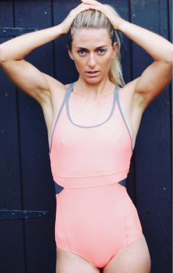 Tehillah McGuinness, South African Born Pro Surfer, Sports Illustrated Sports Model, Celebrity, Charity Volunteer, Entrepreneur and Celebrity Fitness Trainer teams up with Zakti Active for her Celebrity Fitness Challenge with David Lloyds Leisure, in support of The British Heart Foundation