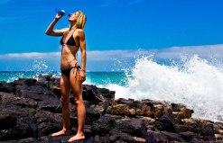 Tehillah McGuinness South African Born Pro Surfer, Athlete, Sports Model, Celebrity Fitness Trainer and Brand Ambassador