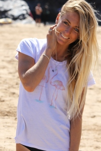 South African born celebrity Tehillah McGuinness who lives in Cornwall. Pro Surfer, athlete, sports model, charity worker, entrepreneur and ambassador for women's sport UK/This Girl Can campaign. Interview with Great Venture Co
