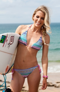 Tehillah McGuinness South African Born Pro Surfer and Sports Model. Photographer Julia McIntosh