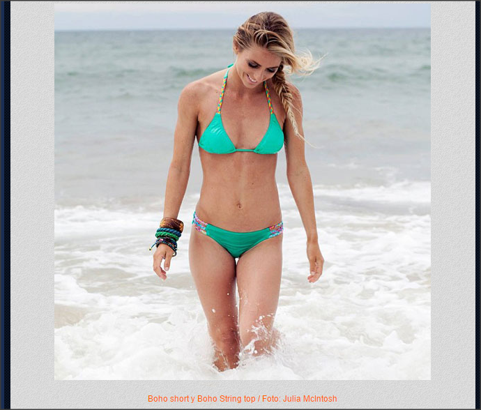 Tehillah McGuinness South African born Pro Surfer, Model and Odina Bikini Ambassador