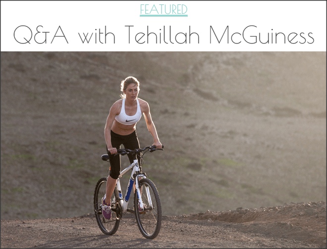 We Heart living interview Tehillah McGuinness - Celebrity, Pro Surfer, Personal Trainer and Ambassador for Women's Sport UK