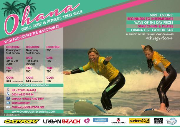 Join Pro Surfer Tehillah McGuinness on her Girls Surf and Fitness weekends in Cornwall this summer