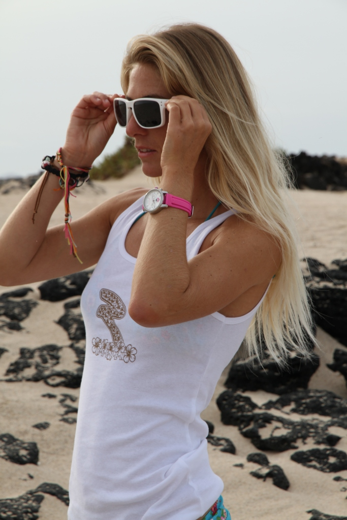 Reezen Eyewear UK Girls Surf and Fitness Tour with Pro Surfer Tehillah McGuinness in Cornwall
