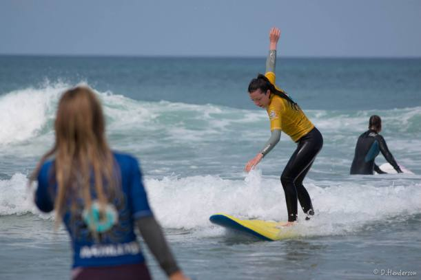 Pro Surfer Tehillah McGuinness hosts her Ohana Girls Surf and Fitness weekend at Perranporth Surf Shool with Reezen Eyewear, Urban Beach, Osprey UK , Volkan Watches, Bekl, Odina Bikinis, Oggy Wax, Surfersskin Suncream,Sport Stylist, PopChips, Shellac Nails and Deeside Water