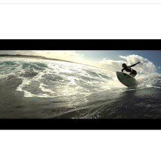 Tehillah McGuinness South African Born Pro surfer - behind the scenes commercial shoot
