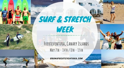 Learn to surf or improve your surfing with South African born pro surfer and surf coach. All levels wlecome. Join us on the beautiful island of Fuerteventura for surf, sun and good food! Book now!