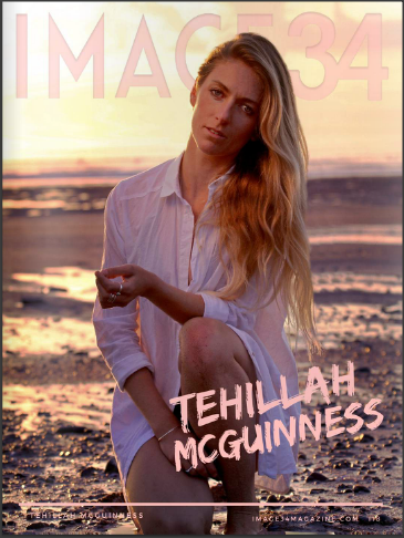 South African Born Sports Model, Pro Surfer and Celebrity Fitness trainer on the cover of Image34 magazine June issue.