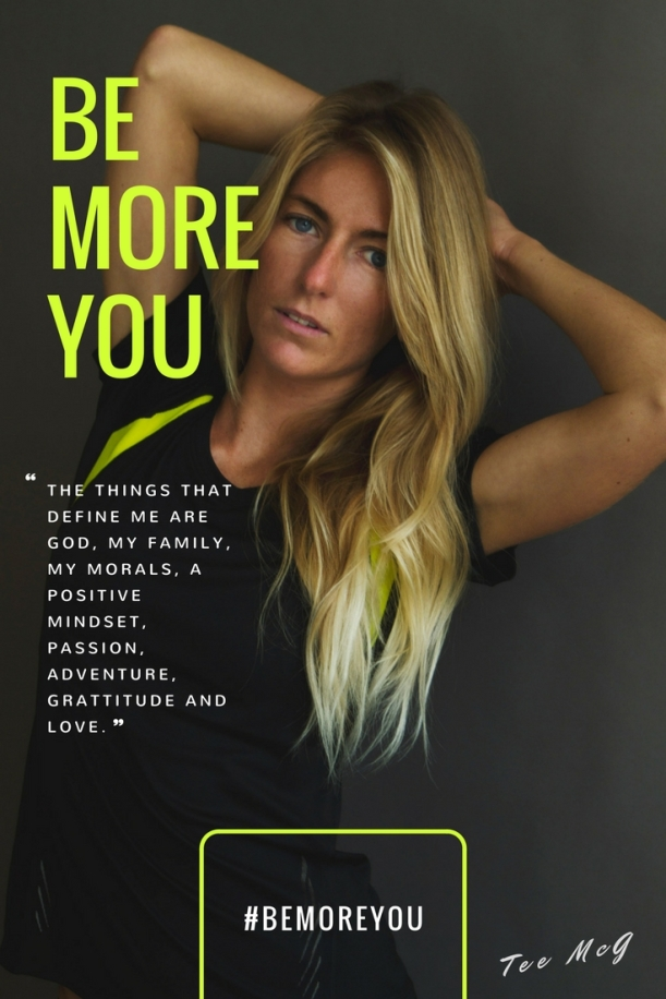 South African born celebrity Tehillah McGuinness who lives in Cornwall. Pro Surfer, athlete, sports model, charity worker, entrepreneur and ambassador for women's sport UK/This Girl Can campaign. Join her #bemoreyou campaign.